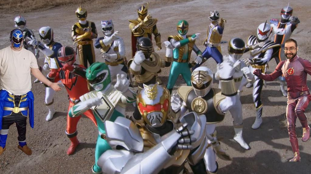 Ranger Command Power Hour & Talkin Toku Crossover