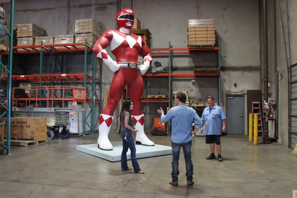 Power Rangers Shipping Wars