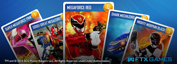 Power Rangers Unite! Cards Banner