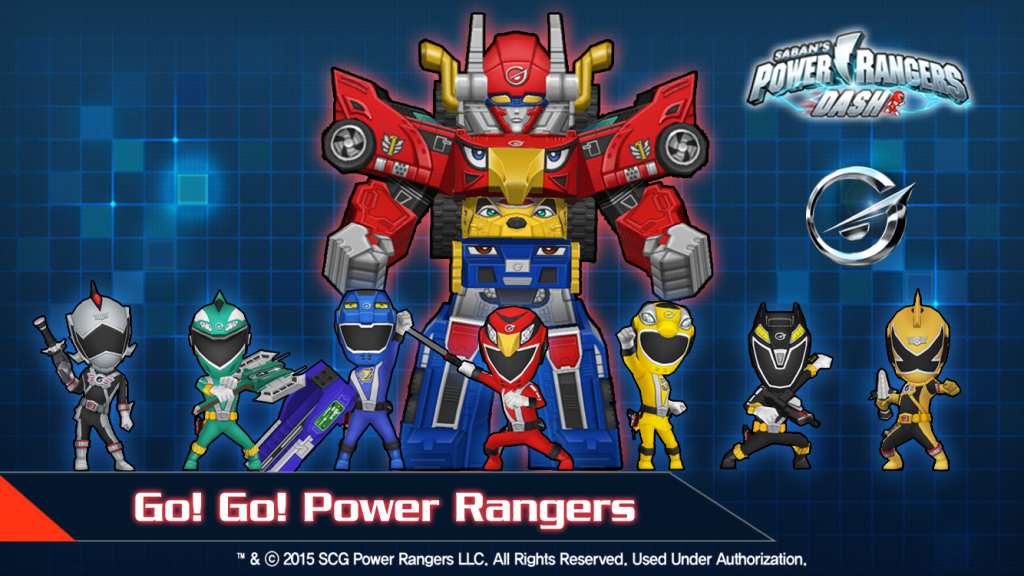 Power Rangers Dash 4