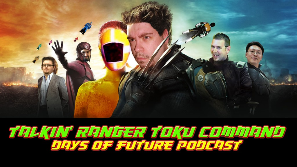 RCPH TT Days of Future Podcast - Talkin' Ranger Toku Command
