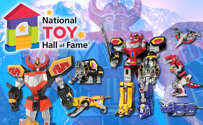 Megazord National Toy Hall of Fame