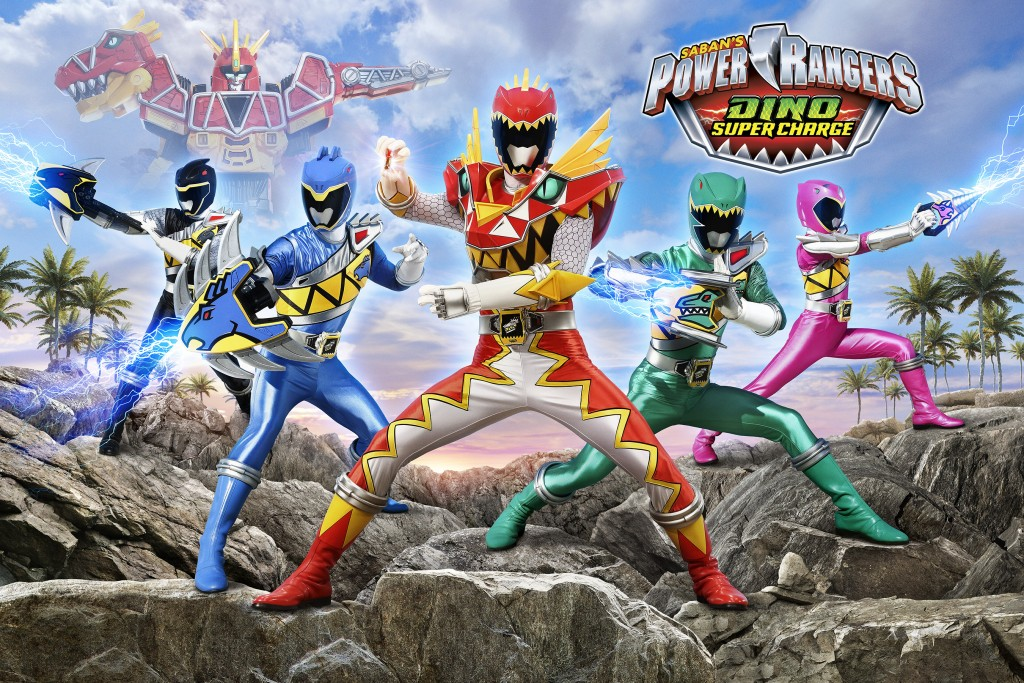 Power Rangers Dino Super Charge Art