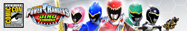 SDCC 2015 Power Rangers