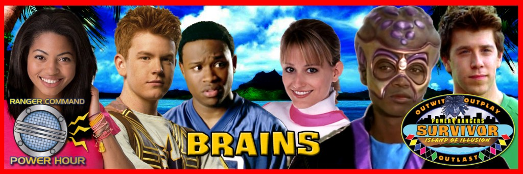 Power Rangers Survivor - Brains