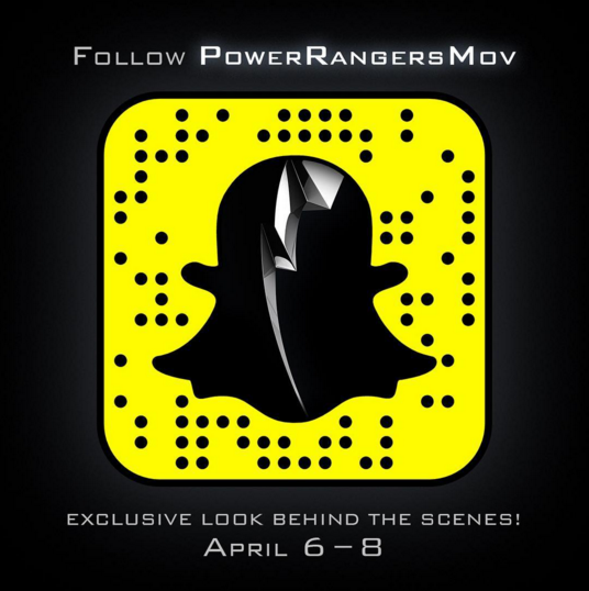 Power Rangers Movie Cast Snapchat Takeover[rzmw]