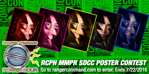 RCPH MMPR SDCC Poster Contest