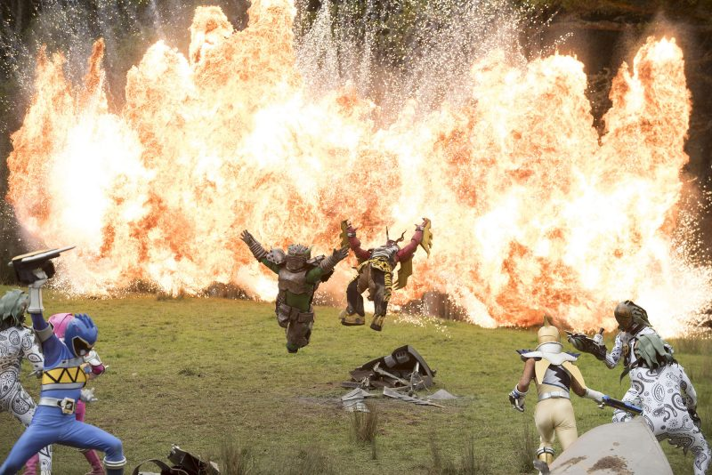 Power Rangers Dino Super Charge Episode 20 Production Still