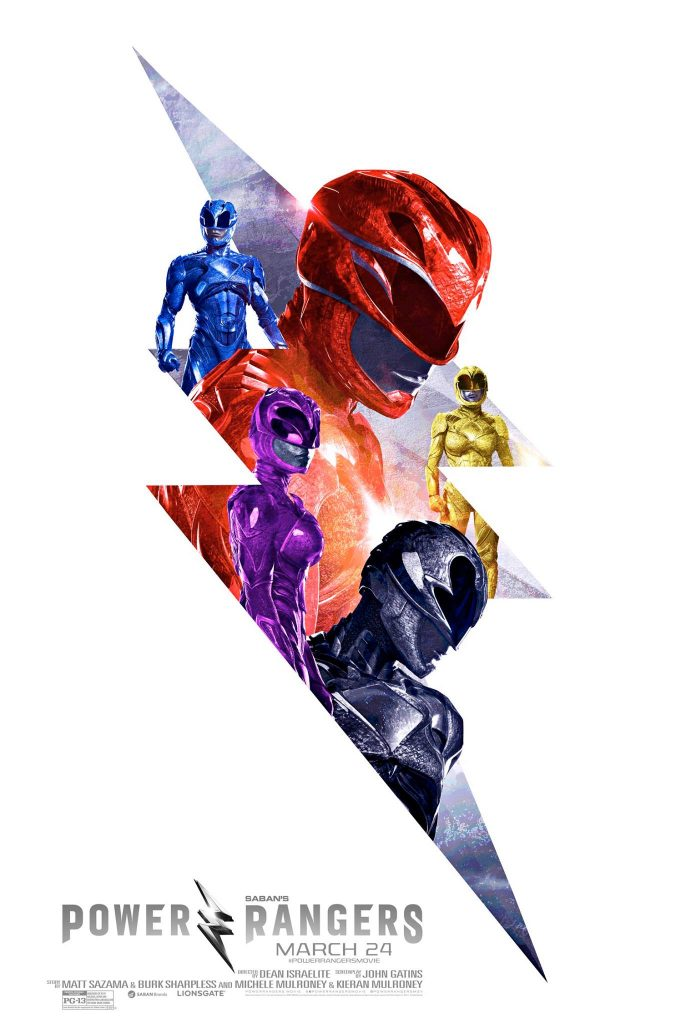 ATOM - Power Rangers Movie Poster