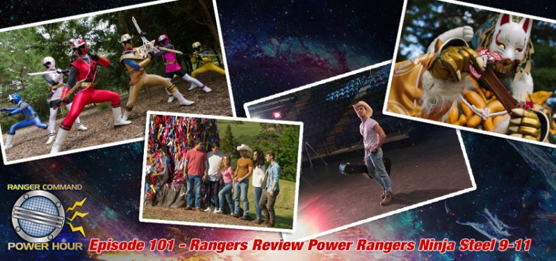 Power Rangers Ninja Steel 9 10 11