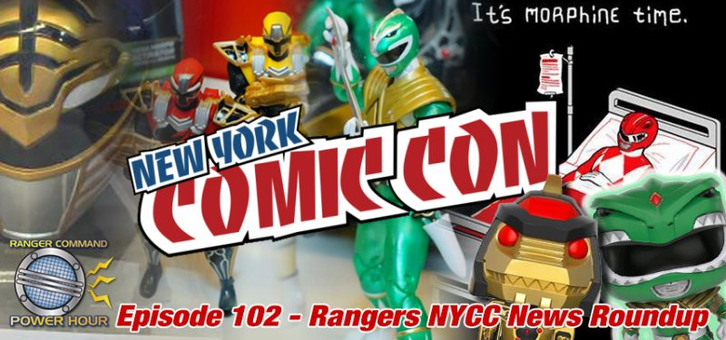 Power Rangers NYCC