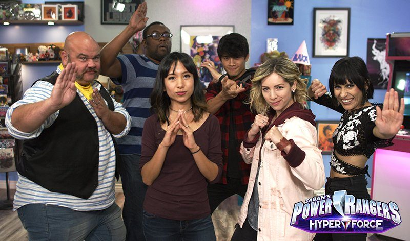 Power Rangers Hyper Force Cast