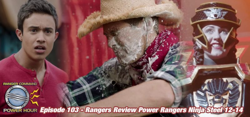 Power Rangers Ninja Steel Episodes 12-14