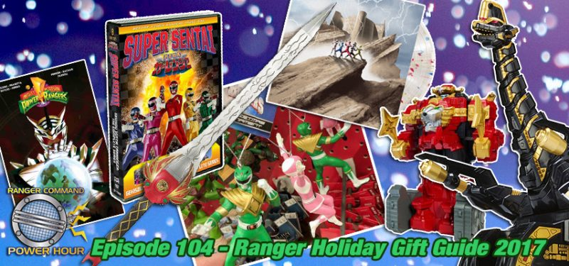 Power Ranger Holiday Gift Guide