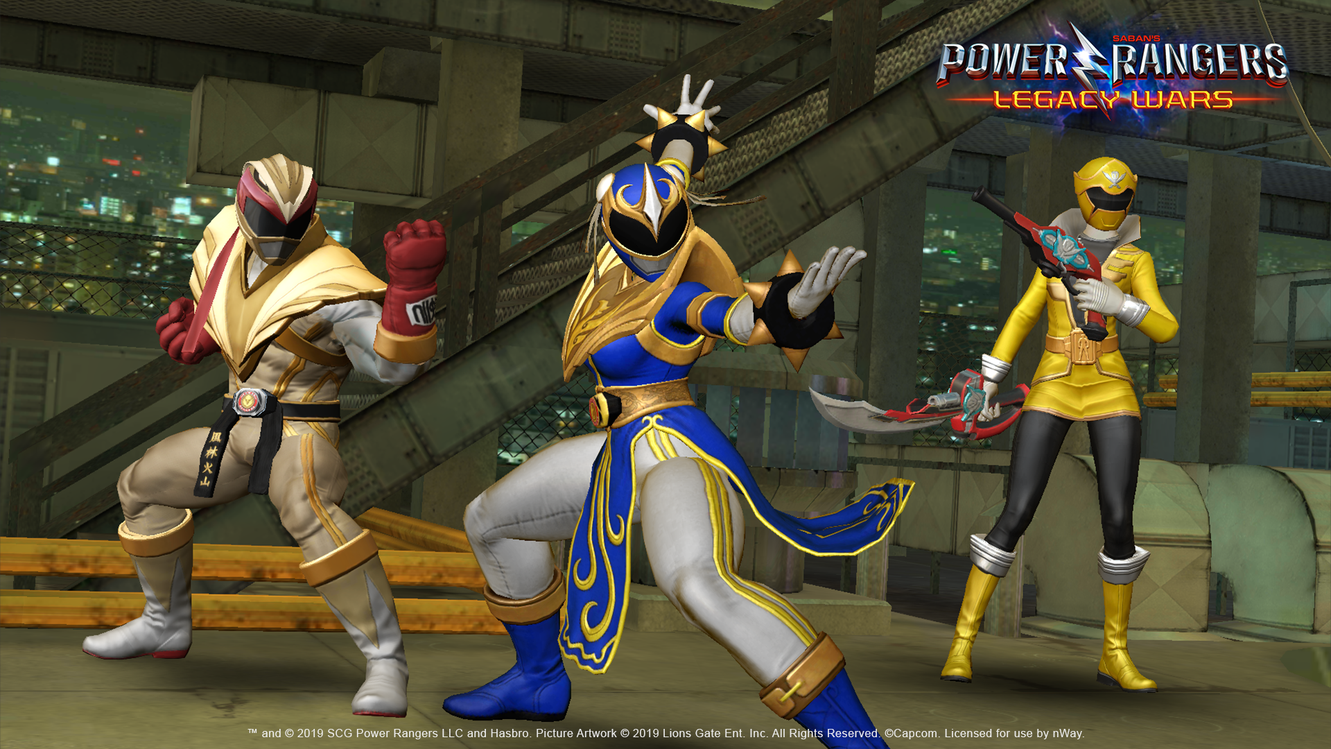 News Street Fighter Character Chun Li Becomes A Power Ranger In